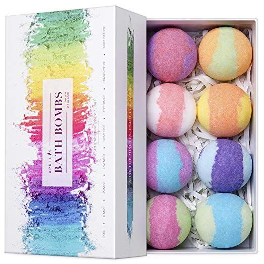Vegan Bath Bombs with Essential Oils - 15 self-care gifts to pamper yourself this Christmas - OurMindfulLife.com