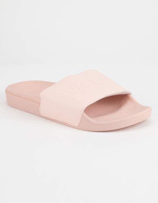 VANS Blush Womens Slide Sandals - BLUSH