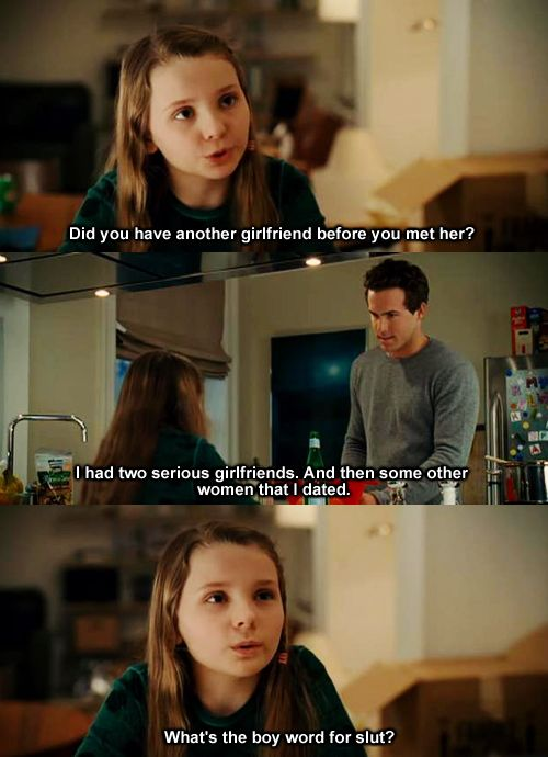 definitely, maybe. this girl's question is hilarious!
