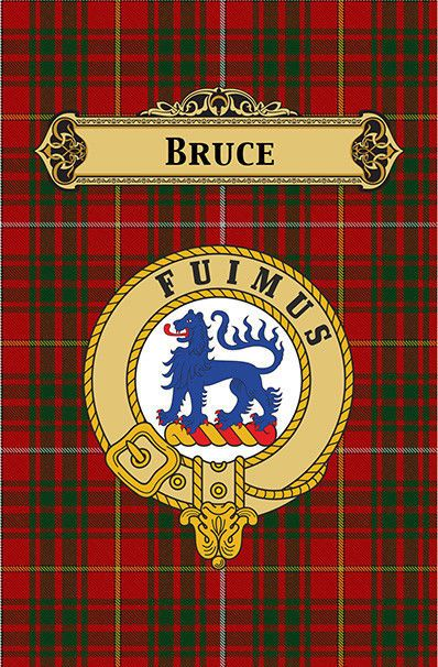 SCOTTISH CLAN BADGE HAMILTON CANVAS ART PRINT SCOTLAND