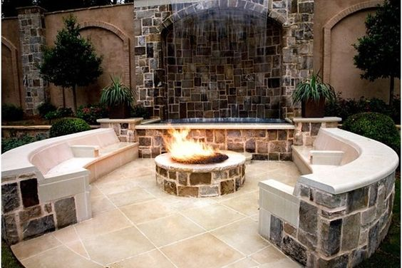 Garden Design: Garden Design with Fire Pit Designs on Pinterest ...