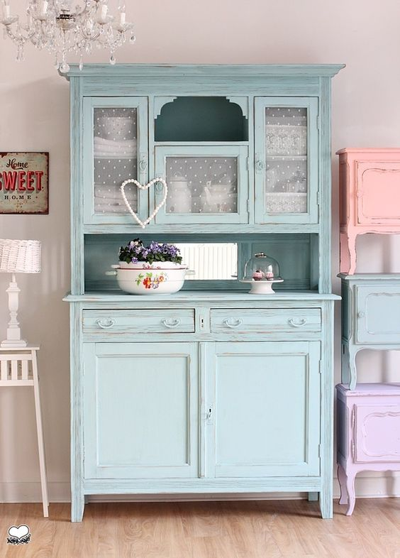 shabby chic buffet pippa vintage. Black Bedroom Furniture Sets. Home Design Ideas