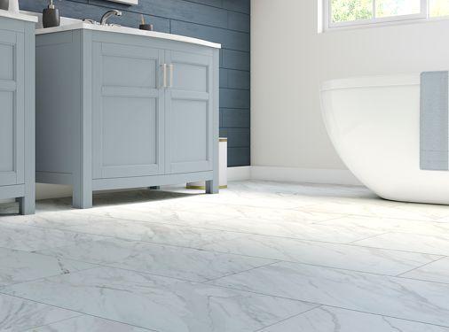 Kitchen Flooring Options Vinyl Tiles Stylepep Com In 2020 Badezimmer Vinyl Vinylboden Vinyldielen