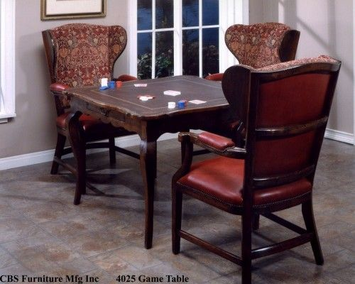 CBS 4025 Game Table   Tj Hooker Inc.