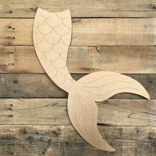 Nautical Wall Door Hanging Decor Hand Carved Wooden Sea Animals Doll Door Sign