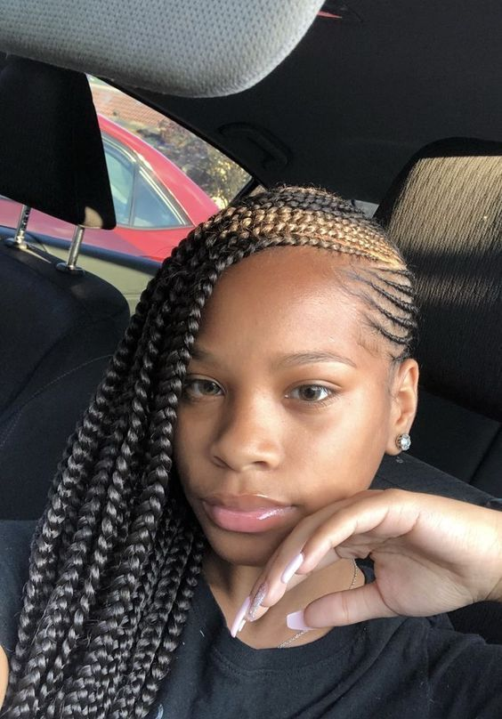 Headwrap Ideas Tutorial Using African Print Turbans From Afro Accessories Feed In Braids Hairstyles Lemonade Braids Hairstyles African Braids Hairstyles