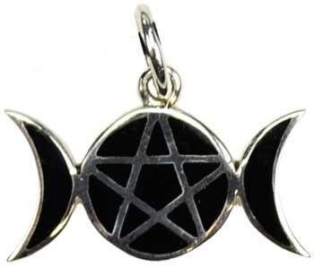 Just added to the store: Pentagram Moons Sterling Take a look! http://www.energyandnature.com/products/pentagram-moons-sterling