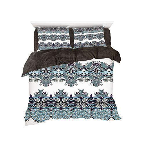 Solid Stylish Embossed Pattern Soft Touch All-Season Oversize Comforter Bed Cover Emma King Black Sapphire Home 3-Piece King//Cal-King Oversize Bedspread Coverlet Bedding Set w//2 Shams