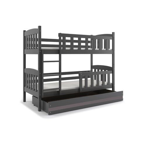 Maliyah Bunk Bed With Drawer Harriet Bee Bed Size 90cm X 200cm