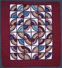 Rainbow Through Window Amish Quilt  ~WOW!~