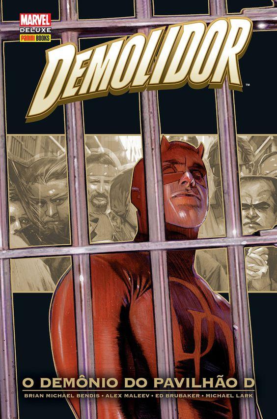 Demolidor - O Demônio do Pavilhão D - Marvel Deluxe - MonsterBrain