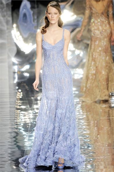 Elie Saab - Haute Couture Spring Summer 2010 - Shows - Vogue.it
