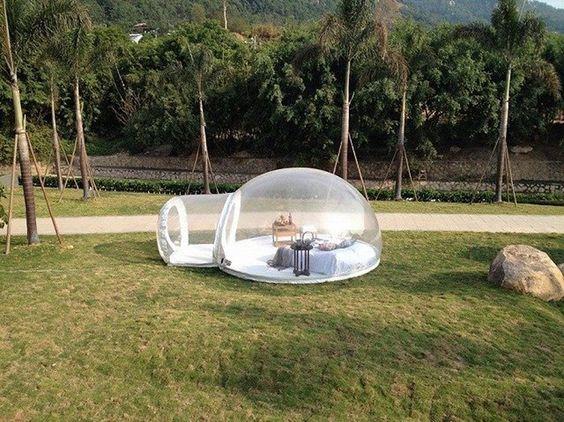 Transparent Bubble Tent 3