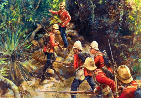 British Bush Fighting on the Cape Frontier: