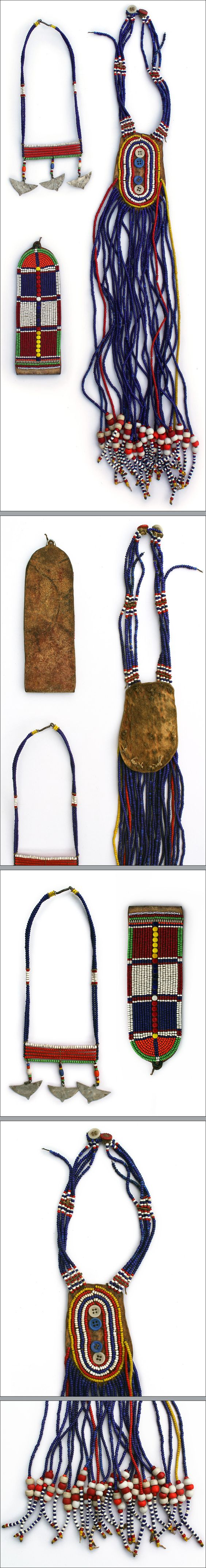 """Traditional jewelry Maasai, Kenya and Oromo, Ethiopia. """"Beadwork became increasingly popular after 1900 when the Maasai began trading with ..."""