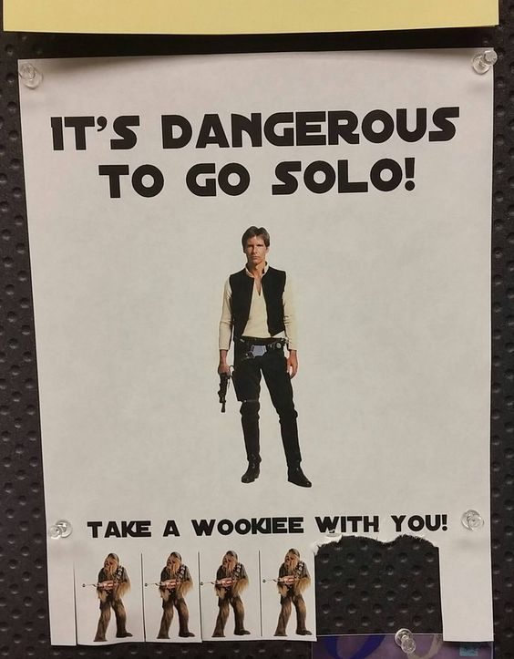 Someone in my office hung this in my break room