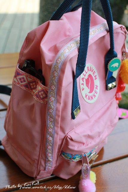 fjallraven kanken mini blush pink