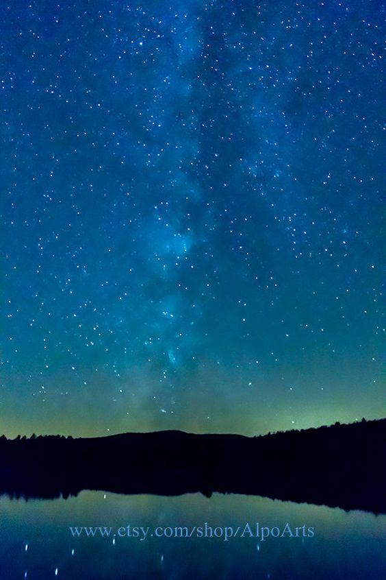 Milky way star photo instant download