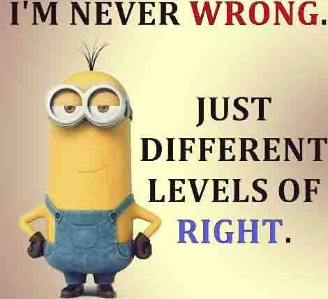 Image result for never wrong