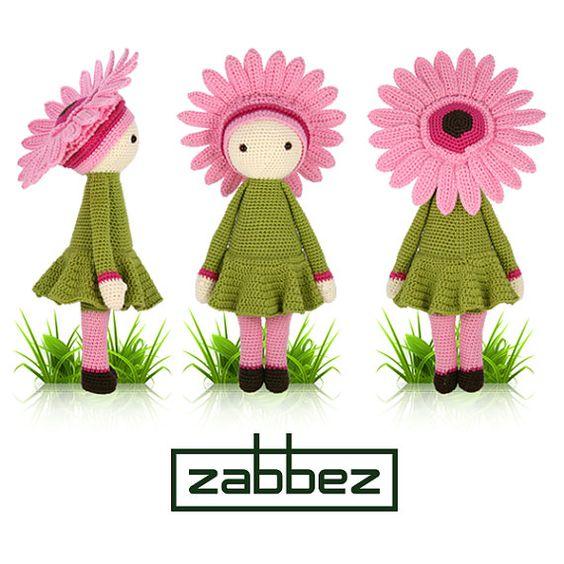 Gerbera Gemma is een slim en kleurrijk meisje. Met haar roze bloemblaadjes is ze een vrolijke verschijning en iedereen merkt haar op. Als ze loopt, dan