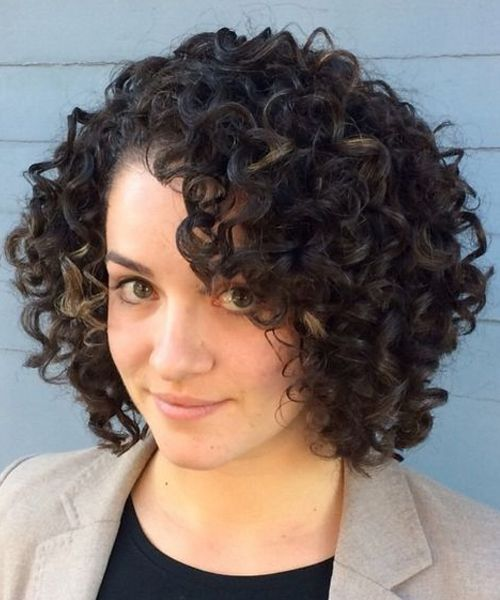 23 Exclusive Short Curly Hairstyles For Professional Women Fashion Knots Curly Hair Styles Curly Hair Styles Naturally Short Curly Haircuts