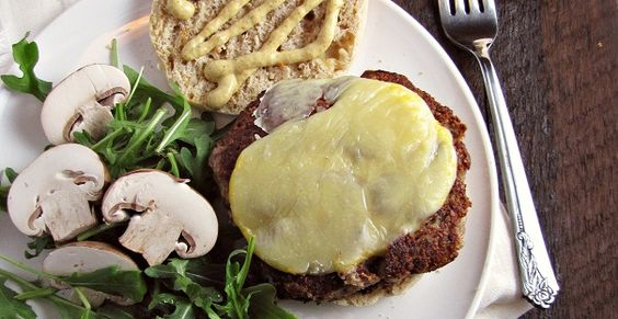 Mushroom and Olive Veggie Burgers — great for any night of the week!