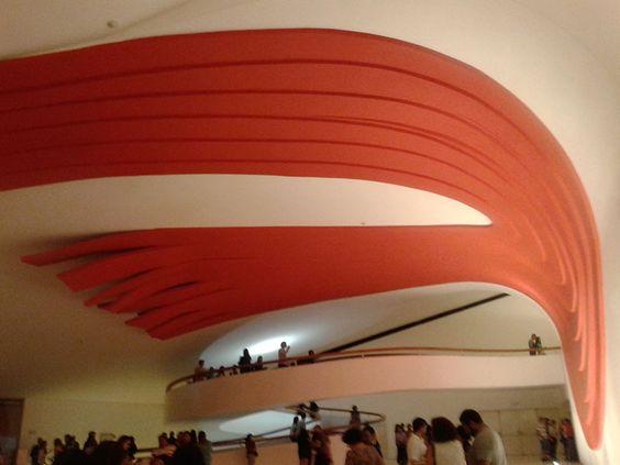 Ibirapuera Auditorium in São Paulo - Niemeyer's project