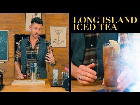 Come Preparare Il Long Island Iced Tea Barman Claudio Peri Cucina Da Uomini Youtube In 2020