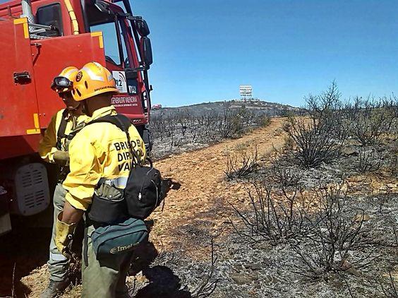 Un hombre de 65 años fue imputado el pasado sábado como supuesto autor de un incendio en el término municipal de Segorbe