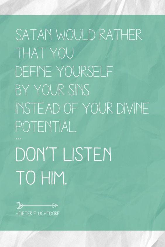 Não ouça.