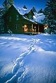 Alamy. cabin