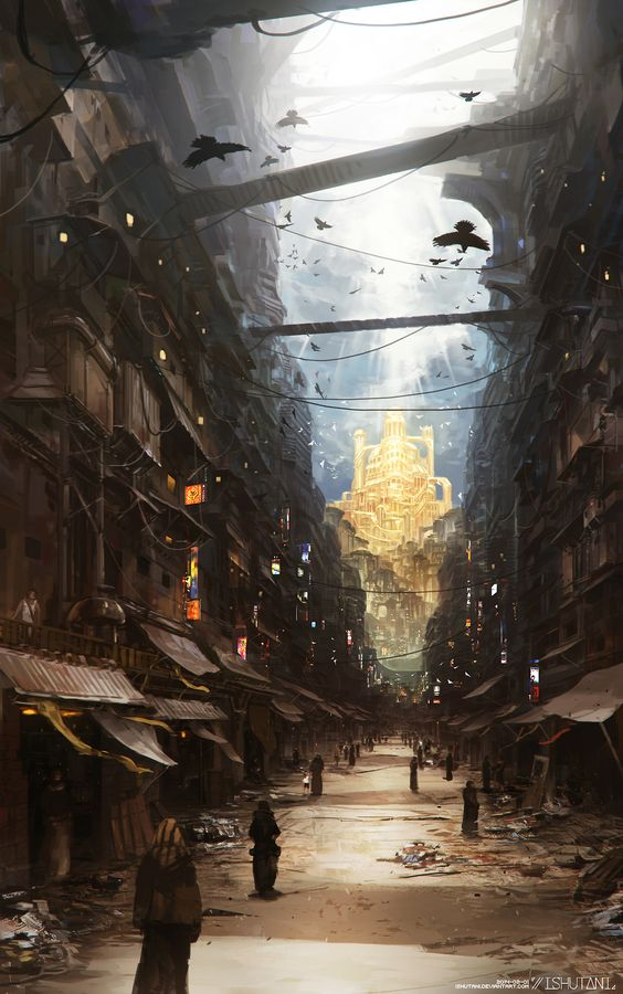 This makes me think of Elani Street from the Chronicles of Elantra by Michelle Sagara... | Ishutani: