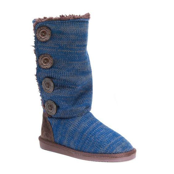 MUK LUKS Liza Women's Water-Resistant Boots, Girl's, Size: