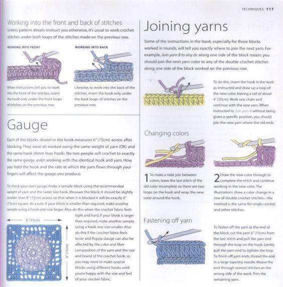 200 Crocheted Blocks for blankets, throws & Afghans 117