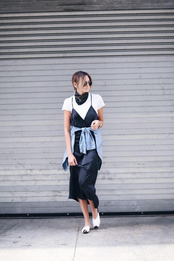 Smart Slip Dress: