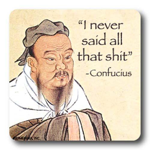 Coaster Confucius Say 5 50 Funny Confucius Say Jokes Quotes