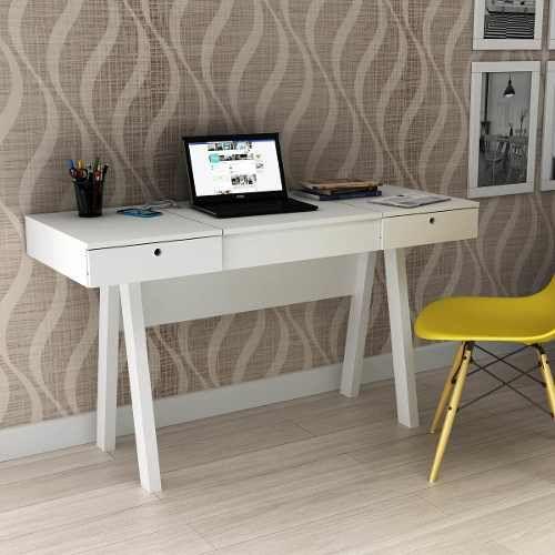 Penteadeira Escrivaninha Tecno Mobili Pe2002 Branco - R$ 346,05