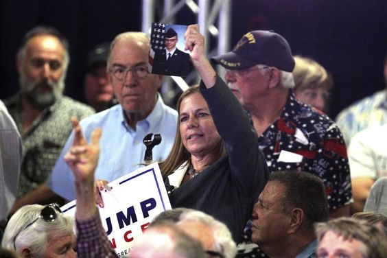 Air Force Mother Confronts Mike Pence Over Donald Trump's 'Disrespect' — Gets Booed: Mike Pence had only released a text statement in the more than 48 hours since Donald Trump questioned the mother and father of a fallen U.S. solider.