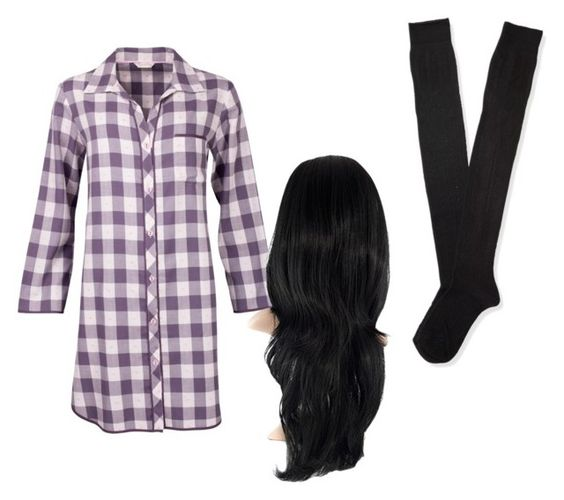 """""""Night Night"""" by parismarion ❤ liked on Polyvore featuring moda, Cyberjammies, Aéropostale, women's clothing, women, female, woman, misses y juniors"""