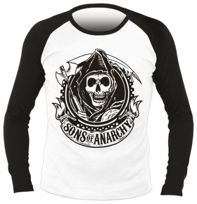 T-Shirt Mec Manches Longues SONS OF ANARCHY - Reaper