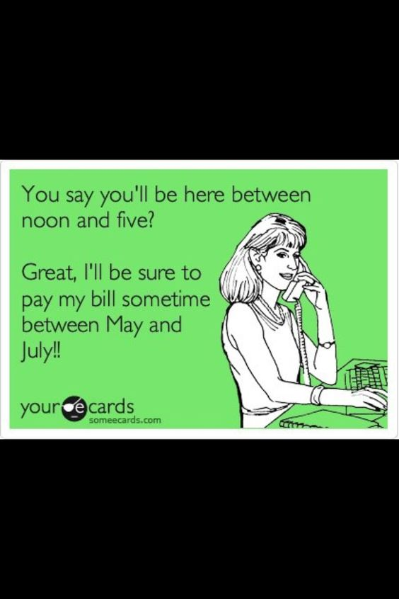 LOL! This is how I feel about Comcast