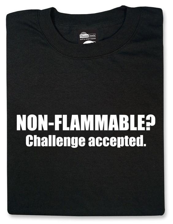 ThinkGeek :: Non-Flammable?   # Pinterest++ for iPad #