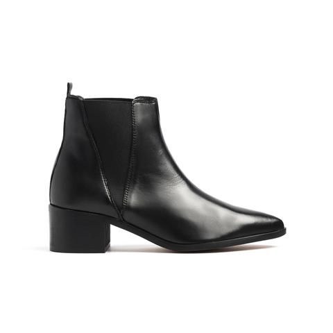 Perth Black Leather Boots | Boots