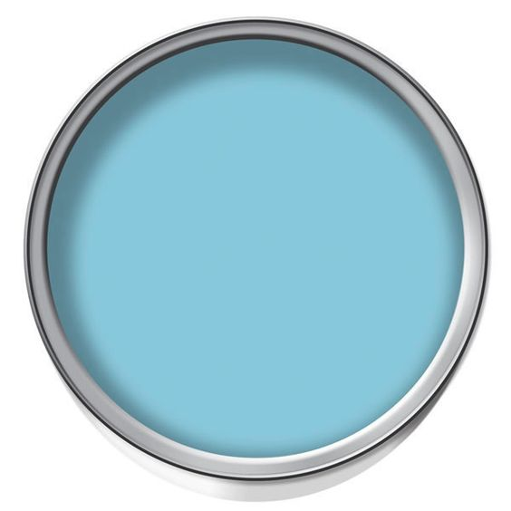 Large image of Wilko Durable Emulsion Paint Turquoise 2.5ltr - opens in a new window