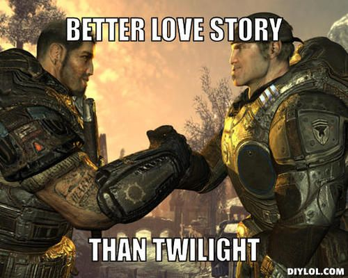 Anything is better than twilight but this bromance is too true!!