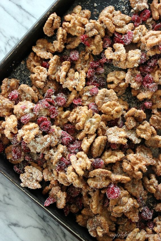 Sugar & Spice Walnuts | Recipe | Dried cranberries ...