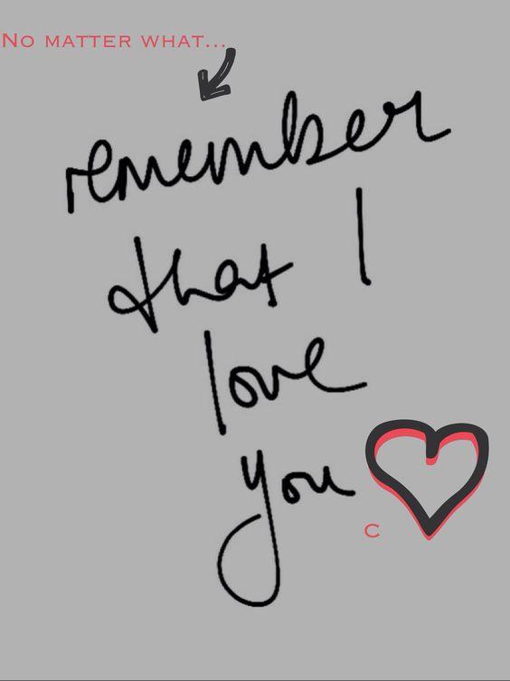 No matter what.... #love