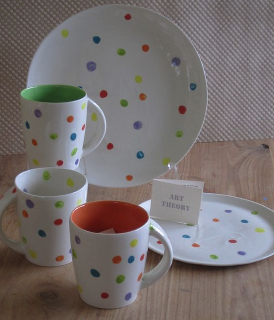 Absolutely love love love these plates from Davis Studio