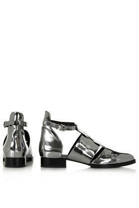 Topshop Kapa Cut Out Shoes