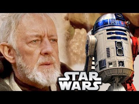 Why Doesn T Obi Wan Remember R2 D2 In A New Hope Star Wars Explained Youtube Obi Wan Star Wars Theories Star Wars